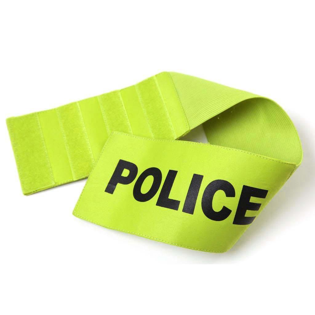 Custom police armband