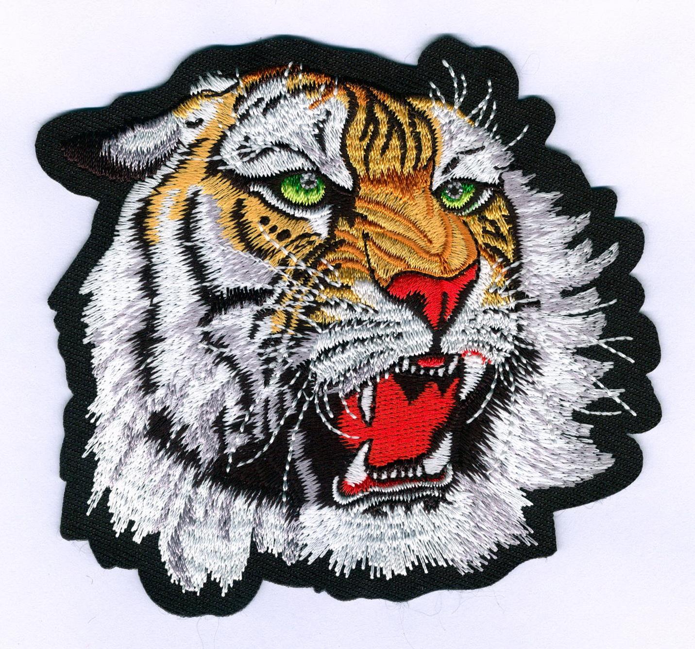 Tiger Head Patch